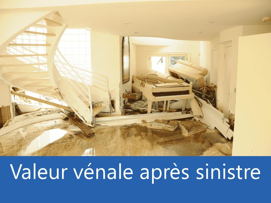 valeur vénale après sinistre Evry, valeur dégâts après sinistre 91, avis valeur sinistre Essonne,