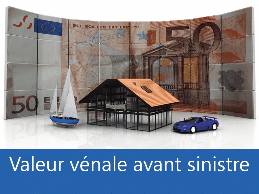 Valeur vénal avant sinistre 91, valeur des biens assurance Essonne, expert valeur vénale Massy,